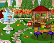 Garden decoration flower decoration Bratz HTML5 játék