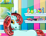 Pony pet salon HTML5 online