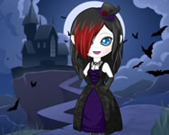 Vampire dress up Bratz HTML5 játék